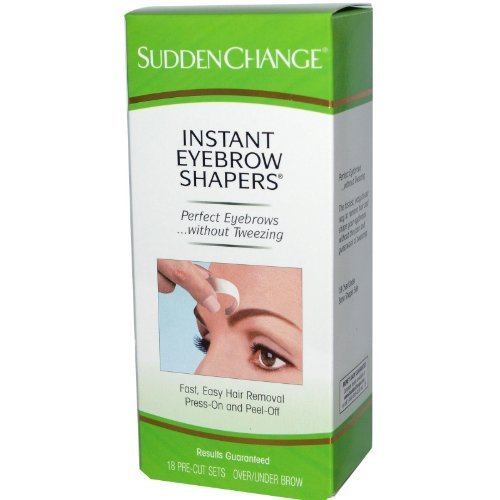 Shapers Off Eyebrow Hair - HairOff Instant Eyebrow Shapers 18 Each
