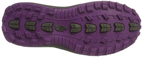 The North Face Litewave Fastpack Mid Gore-Tex, Scarpe da Arrampicata Alta Donna Nero (Tnf Black/Wood Violet)