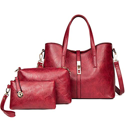 TcIFE Purses and Handbags for Womens Satchel Shoulder Tote Bags Wallets