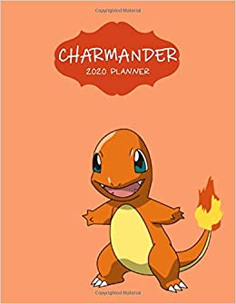 Charmander 2020 Planner: Agenda Diary Day Checklist Meeting ...