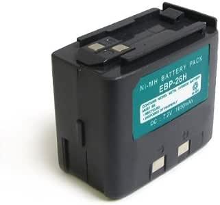 fits DJ-180T 2x 1650mAh Replacement Radio Battery for Alinco EBP-22N EBP-28
