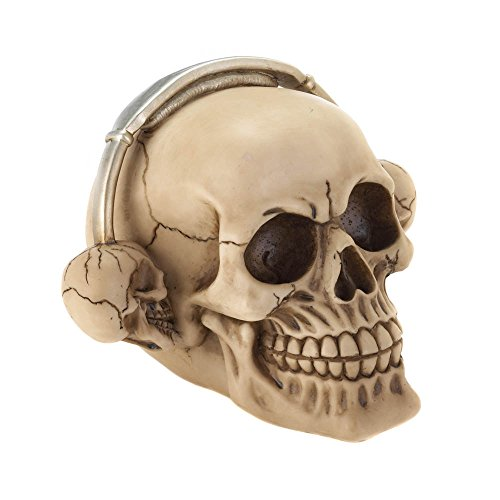 Dragon Crest Skull Decor Skull Decorations Bedroom Aquarium Rockin Headphone Decorative Skull (Sold by Case, Pack of 8)