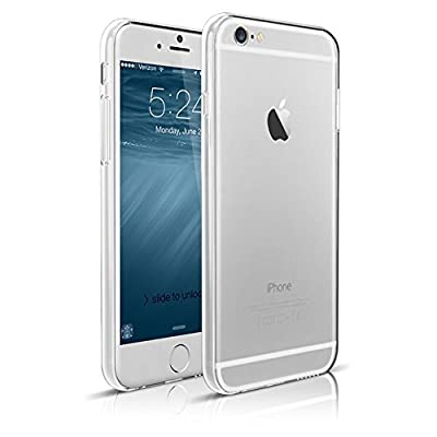 iPhone 6 PhProtection Rubber Casse - High-Quality Crystal, Slim Case, for iPhone 6 - (Crystal Clear) by PhProtection