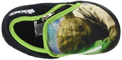 Star Wars 120885, Zapatillas de estar Por Casa Para Niños Vert (Vert)