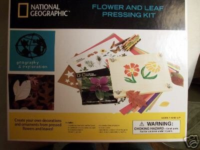 National Geographic Flower and Leaf Pressing Kit by National Geographic
