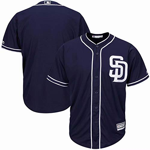 - VF Customizable San Diego Padres T-Shirt Custom Baseball Jersey for Men Women Youth Button Down Embroidered Team Player Name & Numbers - Design Your Own Jersey