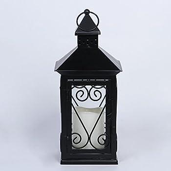 Amazon Com Black Wedding 14 Inch Lantern Centerpiece Home Kitchen