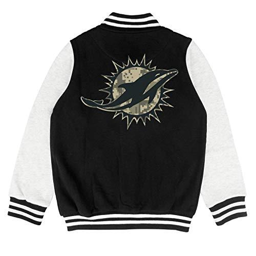 Toddler Kids Black Camouflage Camo Logo Sweatershirts Sweater Coat Classic