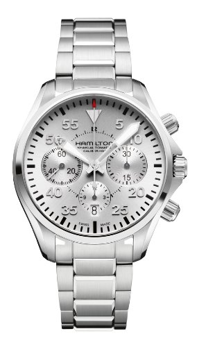 Hamilton Khaki Aviation Pilot Auto Chrono Men's Automatic Watch H64666155 (Khaki Hamilton Aviation Auto)