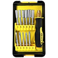 Magnetic Screwdriver Set,NINDEJIN Professional Electronic Device Repair Home Tools Kit,Flexible and Precision Screw Driving Bit for Watches/Computers/ iPad/iPhone/Tablets/PC and Smart phones -13PCS