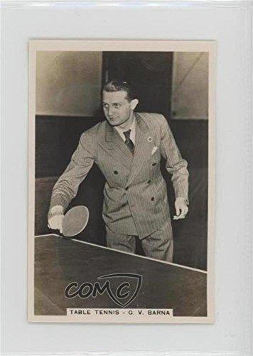 (Table Tennis - G.V. Barna (Trading Card) 1935 Senior Service Sporting Events and Stars - Tobacco [Base] #29)