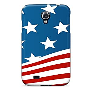 New Christina JD Super Strong Usa Flag Tpu Case Cover For Galaxy S4