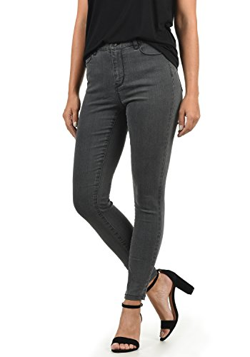 rise L32 Pantaloni Jenna Mid Vero Donna Denim Fit Colore Elastica Skinny xl grey Moda Taglia Jeans Da 6B1wxHz1