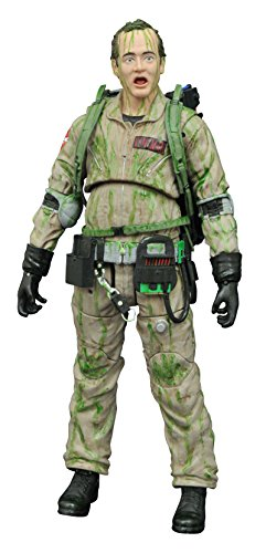 Diamond Select Toys Ghostbusters Slimed Peter Venkman Action Figure (Ghostbuster Action Figures)