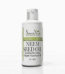 Organic Neem Oil (2 oz) 100% Pure Cold Press, Unrefined - 6 Sizes, Best Prices …
