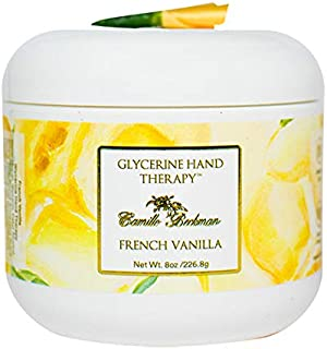product image for Camille Beckman Glycerine Hand Therapy, French Vanilla, 8 Ounce.