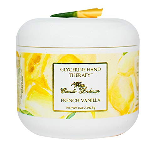 Vanilla Camille French Glycerine (Camille Beckman Glycerine Hand Therapy, French Vanilla, 8 Ounce.)