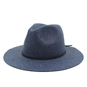 LLPBUA-HAT 100% Hemp Wool Wide Brim Winter Autumn Floppy