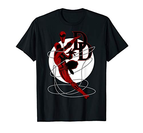 Marvel Daredevil Jump Rope Baton Is Coming In Hot T-Shirt