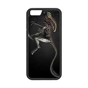 Alien iPhone 6 Plus 5.5 Inch Cell Phone Case Black Ipykb