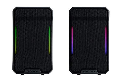Phanteks Evolv Sound Mini (PH-SPK219_DBK01), Compact, Gaming Speaker, Digital-RGB Lighting, Black.