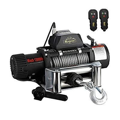 RUGCEL WINCH Steel Cable Electric Winch Load Capacity
