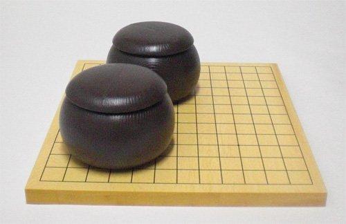 9・13路盤セット(碁盤+碁石+碁笥)103-3