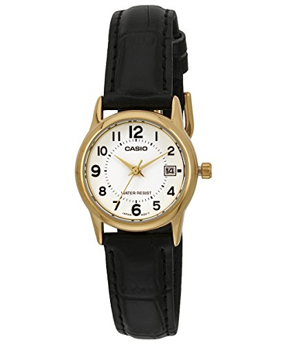 Casio Womens LTPV002GL 7B Leather Quartz product image