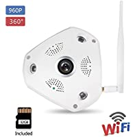 KORANG 960P Wireless Ip Camera System H.264 360 Degree 3D Fisheye Monitoring System 1.3 Megapixel P2P Onvif Surveillance CCTV IP Camera