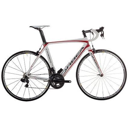 Amazon.com : Orbea Orca Silver SLi2 Bike White/Red/Silver, 55 ...