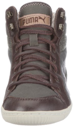 Puma Abbey Military Wns, Baskets Basses femme Marron - Braun/forest night