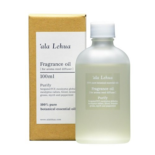 デモンストレーションきしむ一瞬フレーバーライフ(Flavor Life) `ala Lehua (アラレフア) アロマリードディフューザー フレグランスオイル 100ml purify(ピュリファイ)