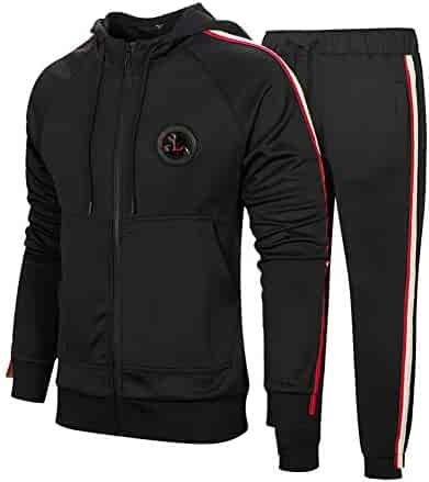 Flirty Wardrobe Mens HNL Tracksuit Joggers Hoodie Sweatshirt Pants Sweats Bottoms Plus