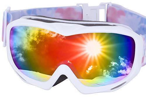 ICEPARDAL(아이스 파 달) 스노보드 고글 흐림금지 더블 렌즈 간단 탈착 UV컷 99% 일본 기획품 전10색 IBP-782