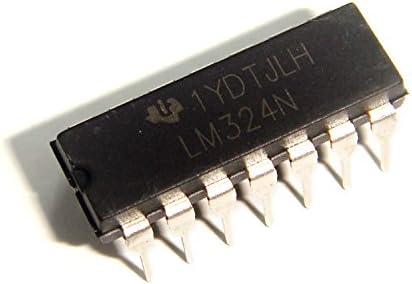 【100個入り】 Texas Instruments LM324N オペアンプ DIP