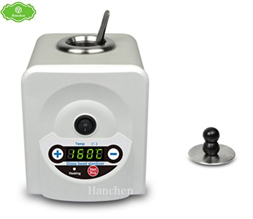 HY-300 Glass Bead Sterilizer for Laboratory 100-300℃ 120W (220V) by Hanchen
