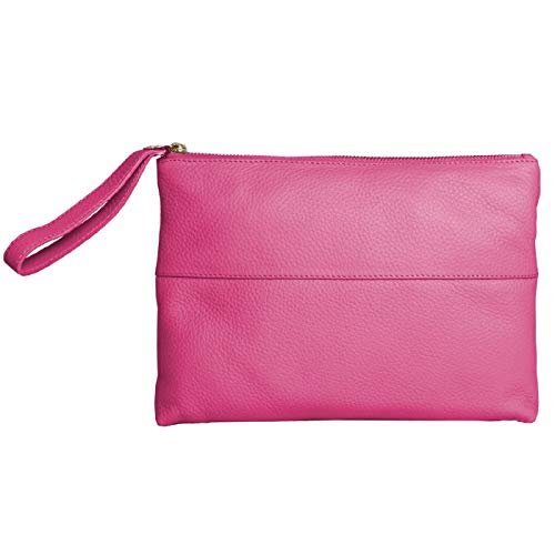 Eastern Femme Counties cuir Pochette Courtney en Corail Leather R8fRqAa