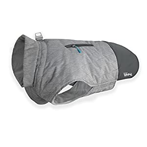 Silverton Weatherproof Thinsulate Warm Coat for Dogs by Outward Hound, Grey, X-Large