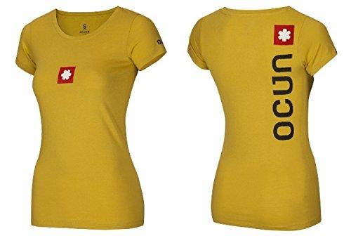 /Ladies T-Shirt /Yellow/ Ocun Logo Tee/