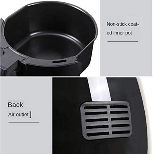 X/L 4.5L Air Fryer Ménages Multi-Fonction À Grande Capacité en Santé Sootless Friteuse Frying Pan Air Fryer