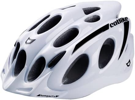 Catlike Kompacto - Casco de ciclismo, color blanco brillo, M 55 ...