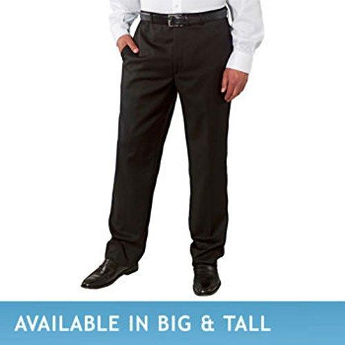 Men's Wool Gabardine Flat Front Pant (3630, (Gabardine Wool Suit)