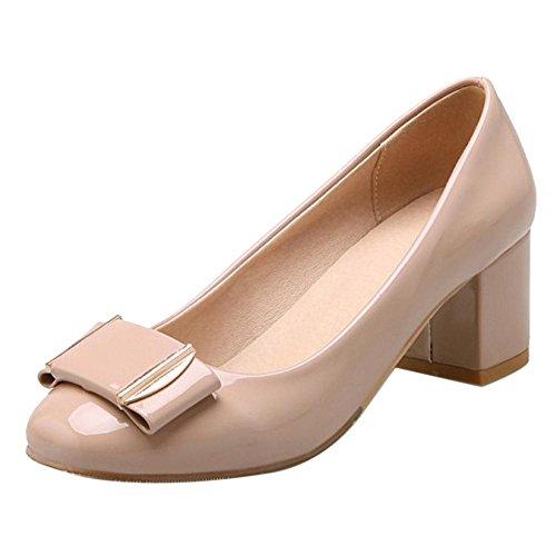 Coolcept Zapatos de Vestir pata Mujer Apricot-2