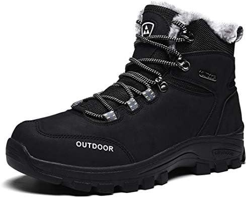 トレッキングシューズ ブーツ 防寒ブーツ メンズ 冬 裏起毛 スノーブーツ スノーシューズ 防水 防滑 軽量 厚底 大きいサイズ 登山靴 アウトドアシューズ ウィンターブーツ ハイキングシューズワークブーツ