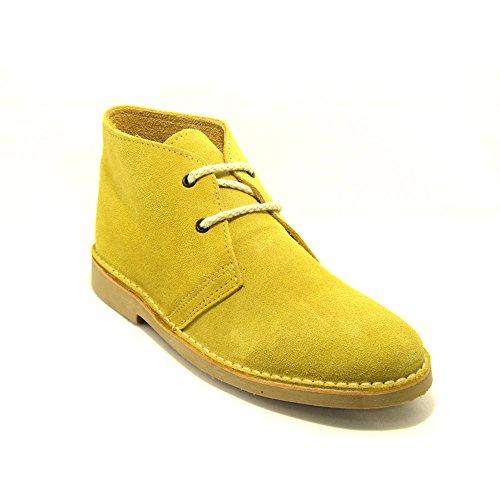 safari Botte pointe amarillo cuir K100FP italienne 41 en 1B8w8pq