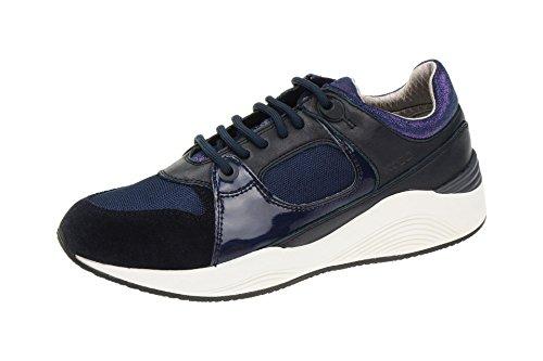 blau cordones Mujer dunkel Azul zapatos GeoxD540SA 02214C4002 con vwqHg6Ht0W