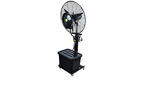 Ventilador silencioso de pie Mecánico Mist Fan Industrial Metal ...