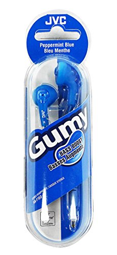 JVC Basic Gumy Earbuds Blue ()
