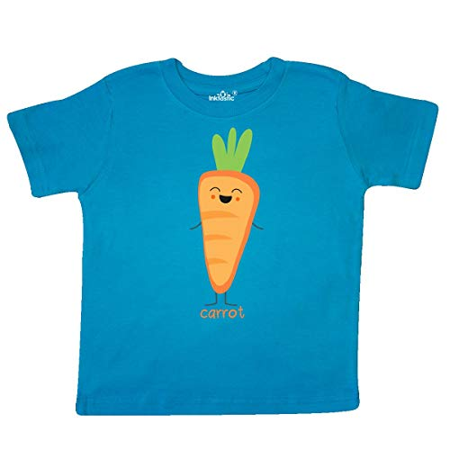 inktastic Carrot Costume Toddler T-Shirt 5/6T Turquoise]()