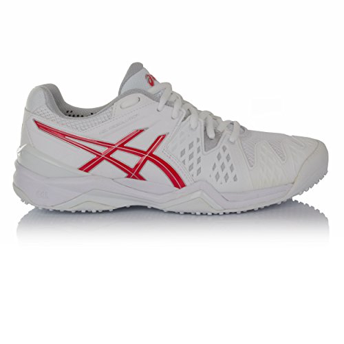 Asics Gel-Resolution 6 Grass Women'S Zapatilla De Tenis Blanco